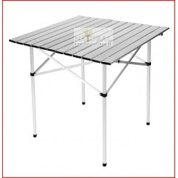 Stół biwakowy, Campingowy, składany aluminiowy