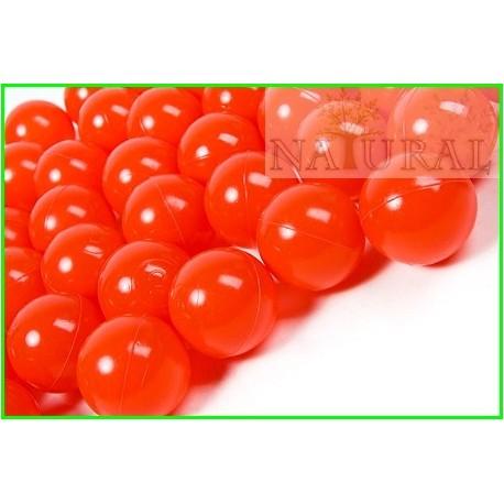 Piłki plastikowe czerwone