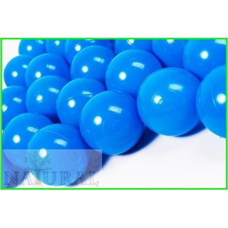 Piłki plastikowe niebieskie