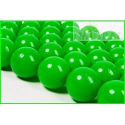 Piłki plastikowe zielone