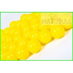 Piłki plastikowe żółte