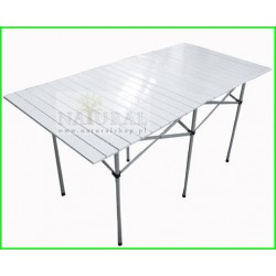 Stół biwakowy, Campingowy, składany aluminiowy C2A