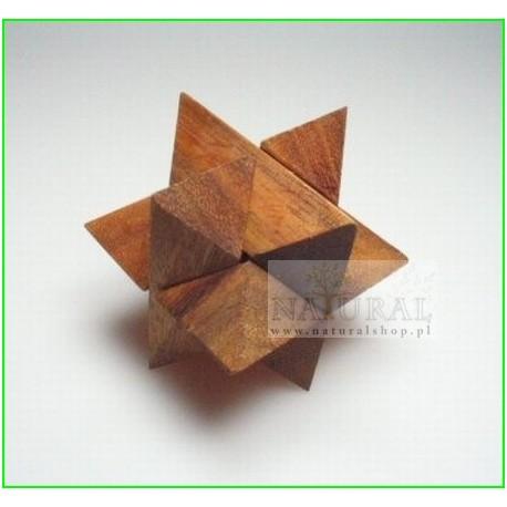 Puzzle 3D Gwiazda L