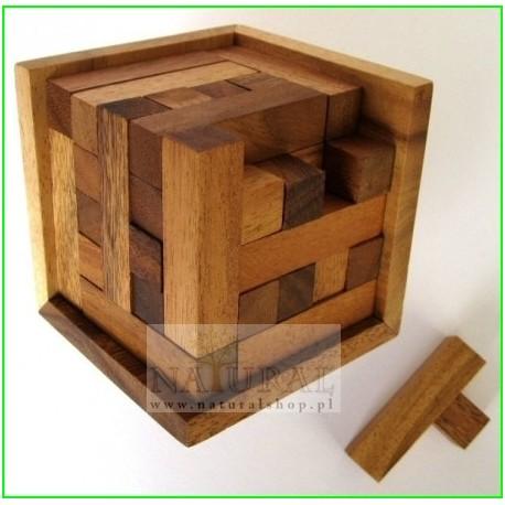 Puzzle 3D Kwadrat 125 S