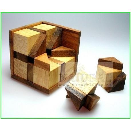 Puzzle 3D Ośmiokąt