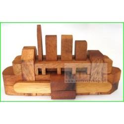 Puzzle 3D Łódka L