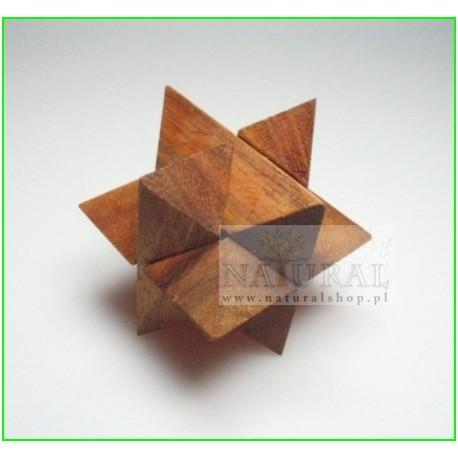 Puzzle 3D Gwiazda M