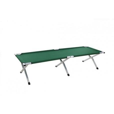 Łóżko Campingowe Zielone