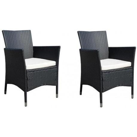Komplet Krzeseł DW04 black