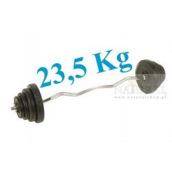 Sztanga łamana 23,5 KG
