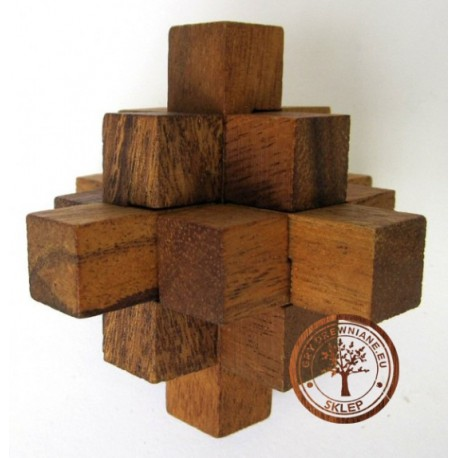 Puzzle 3D Kostka 9