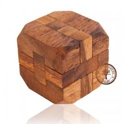 Gra Drewniana Układanka Puzzle 3D Kostka G171