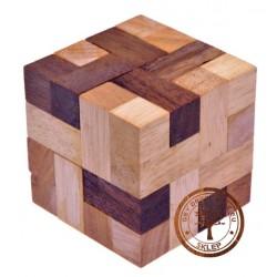 Gra drewniana Układanka Puzzle 3D Blok