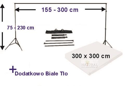 Zestaw statywów foto - sklep - Naturalshop.pl