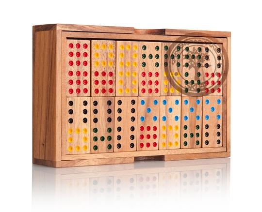 Domino drewniane 9 - sklep - GryDrewniane.eu
