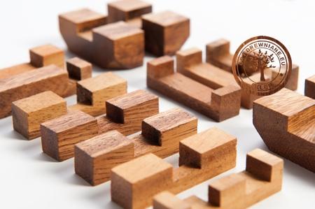 Gra Drewniana - Kostka G171 - Puzzle 3D - sklep - GryDrewniane.eu