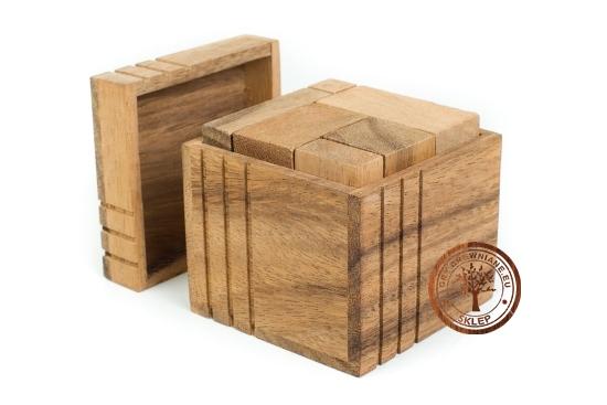 Gra Drewniana - Kostka G 450 - puzzle - sklep - GryDrewniane.eu
