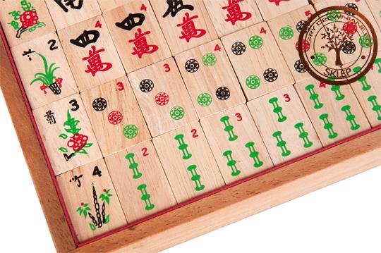 Mahjongg - gra strategiczna - sklep - GryDrewniane.eu