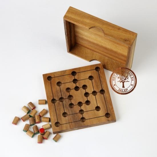 Gra Drewniana - Młynek - wersja L - sklep - grydrewniane.eu