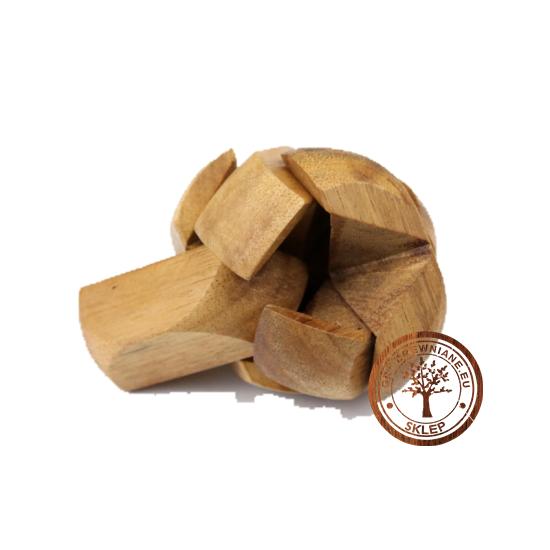 Gra Drewniana - Układanka - Piłka - puzzle 3d - sklep - grydrewniane.eu