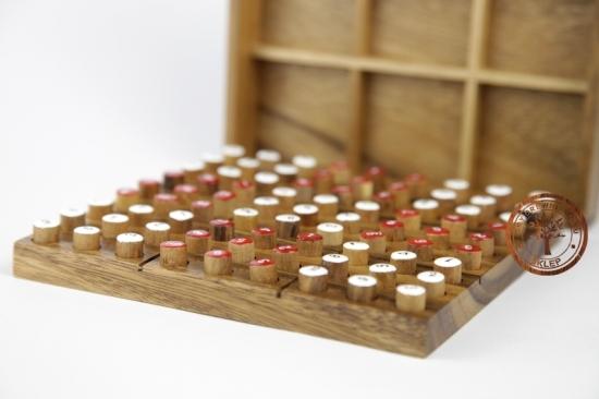 Gra - Drewniana - Sudoku kolorowe - logiczna - sklep - grydrewniane.eu