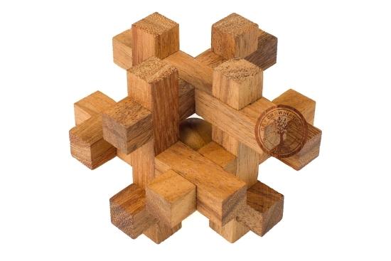 Gra Drewniana - Układanka Tavor - Puzzle 3D - sklep - GryDrewniane.eu