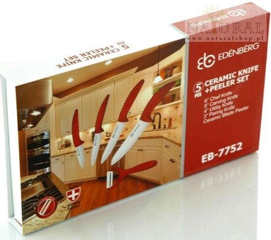 Zestaw noży ceramicznych - sklep - naturalshop.pl