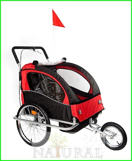 Przyczepka dziecięca rowerowa