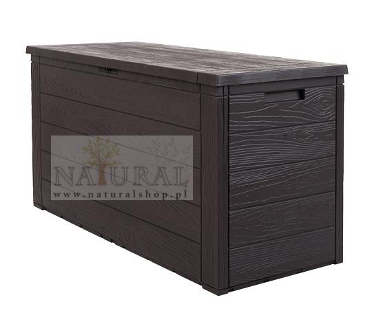 Skrzynia ogrodowa - drewniana - sklep - Naturalshop.pl
