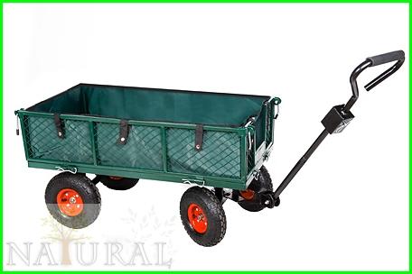 Wózek metalowy 350 KG ładowność